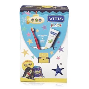 Vitis Junior Dentífrico, cepillo y mochila
